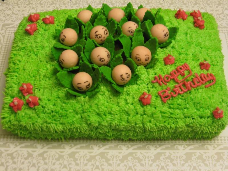 Cabbage Patch Birthday Cake